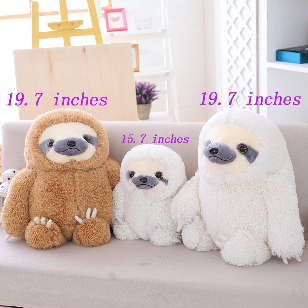 ... Winsterch-E Giant Stuffed Animal Toy Plush Sloth Gift Large Baby Doll Soft Plush Toy ...