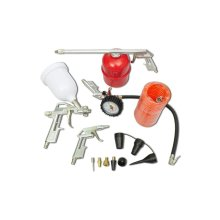 Air Tool Set Kit Spray Paint Gun for Compressor