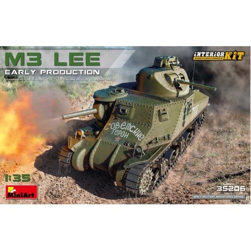 MIN35206 - Miniart 1:35 - M3 Lee Early Prod. Interior Kit