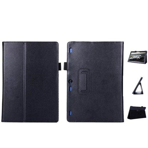 Lobwerk Case for Lenovo Tab 10X103°F 10.1inch Tablet PU Leather Case Smart Cover Flip Case black Black