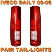 Iveco Daily Van 99-06 Rear Tail Lights Lamps Pair Left & Right
