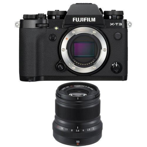 FUJI X-T3 Black + XF 50MM F2 R Black