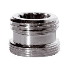 "Metal Adaptor Reduction for Water Tap 22mm Male to 1/2"" Bsp Male Joiner"