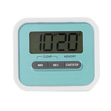 Utility Mini Electronic Digital Timer Kitchen Timer, Blue