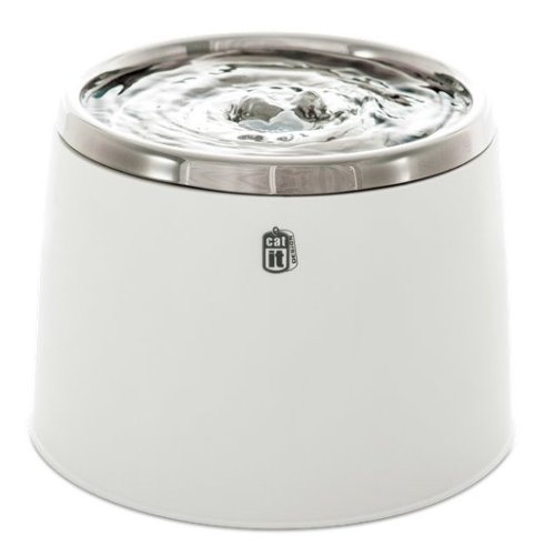 Catit Fresh & Clear Drinking Fountain With Stainless Steel Top