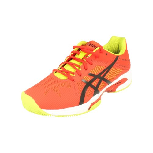 86e40307f55 Asics Gel-Solution Speed 2 Clay Mens Tennis Shoes E601N Sneakers Trainers