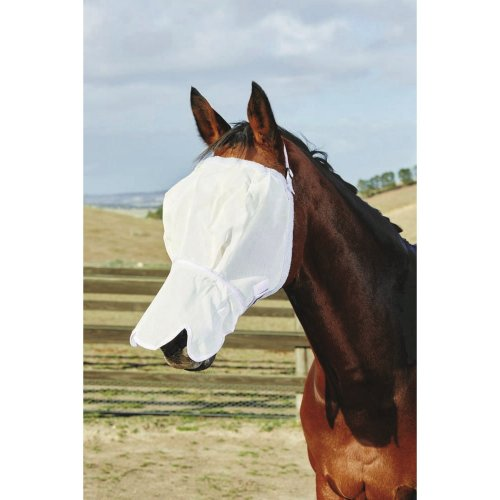 Roma Fly Mask With Fleece & Nose